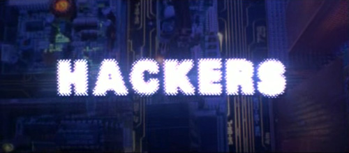 Hackers title screen