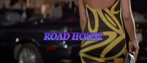 Road House title screen