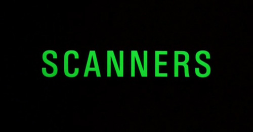 Scanners title screen